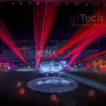Kvant Spectrum 25W RGB Showlaser Ausgabe
